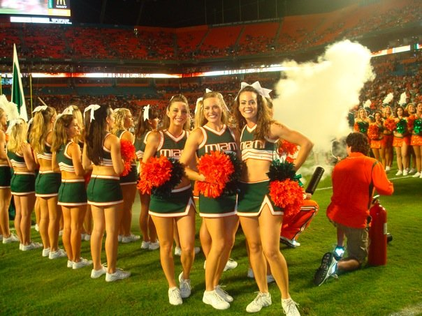 Q What was your most memorable experience as a UM cheerleader?  sc 1 st  Canespace - Typepad & Canespace: Hurricanes Cheerleader Profile: Lacee