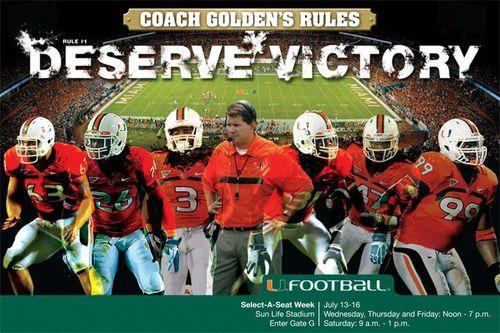 Deserve victory