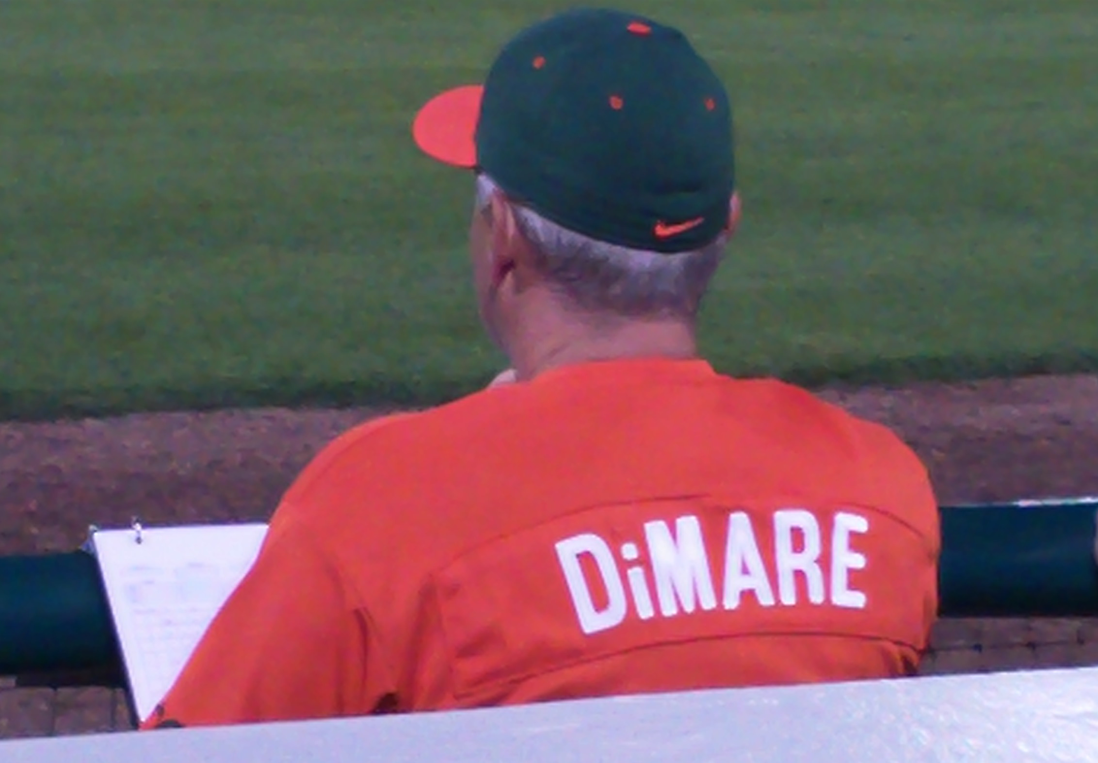 739f6c16dad ... hit the ball solidly and right at a UM infielder or outfielder who had  just been repositioned by DiMare. Coincidence  I think not! More often than  not ...