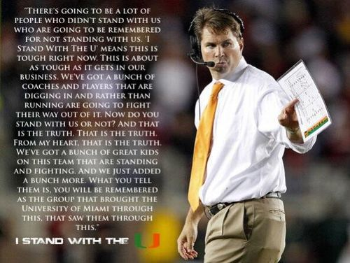Stand with the U