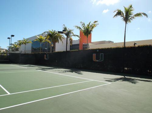 UM Tennis Courts
