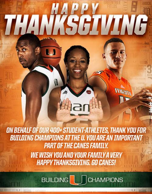 UM Thanksgiving 2016